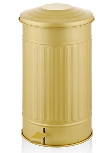 The Mia Çöp Kovası Orta - Gold Altın